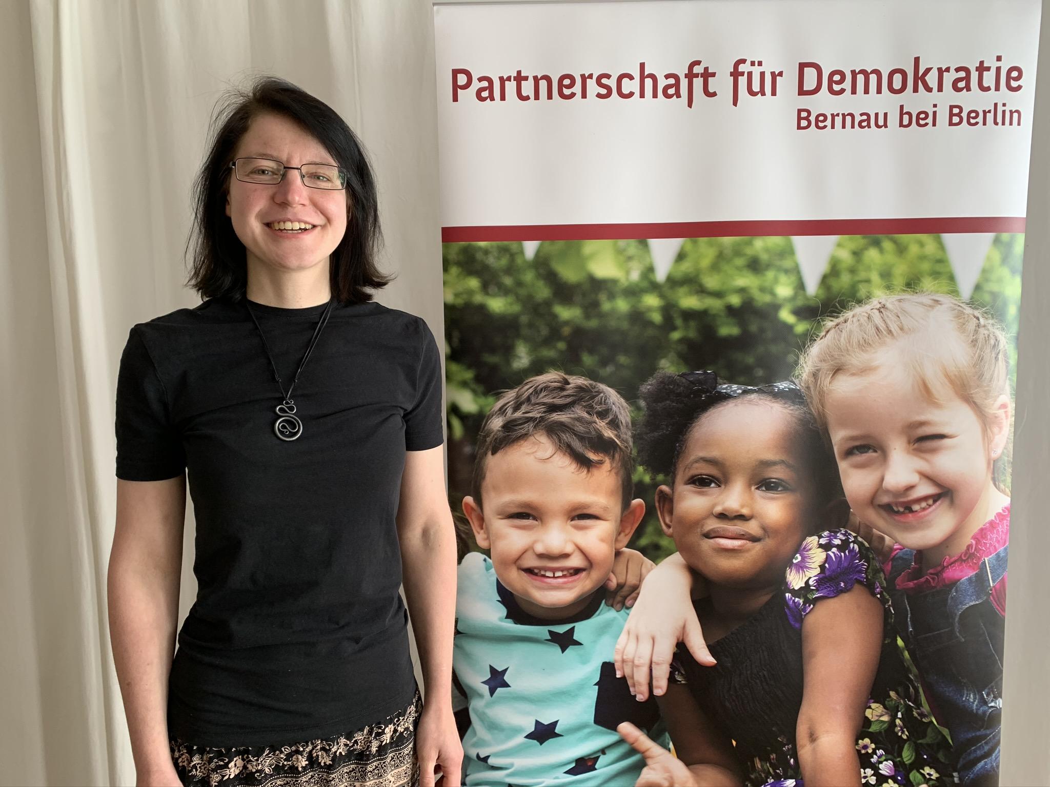 Johanna Seeger, Fach- und Koordinierungsstelle der Partnerschaft für Dmeokratie in Bernau