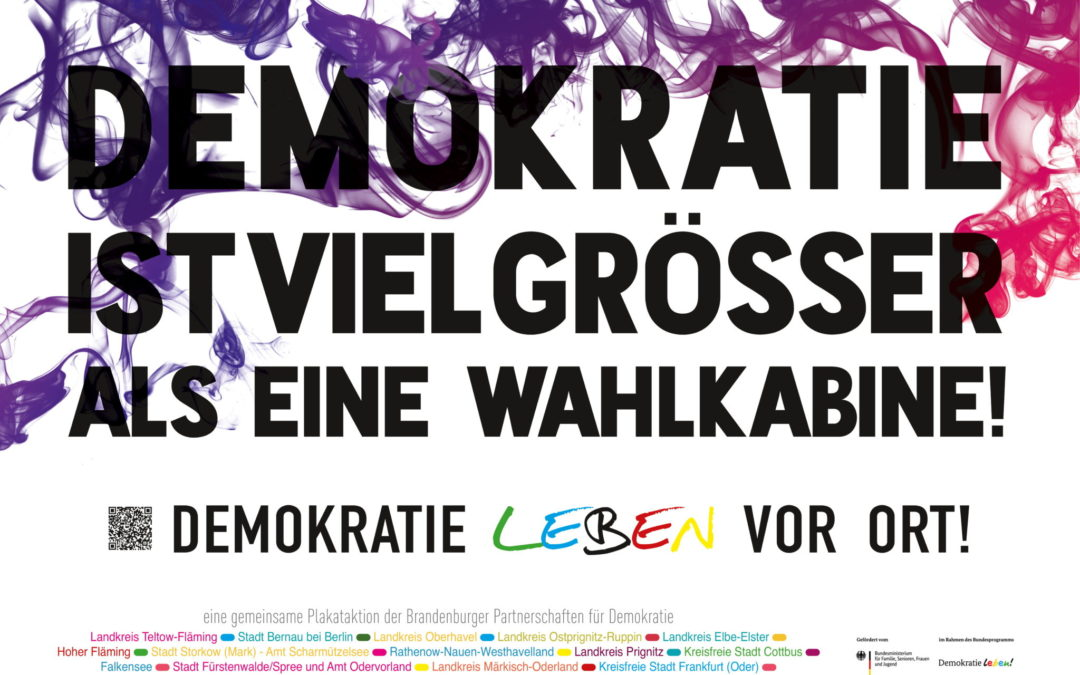 Demokratieförderung in Bernau